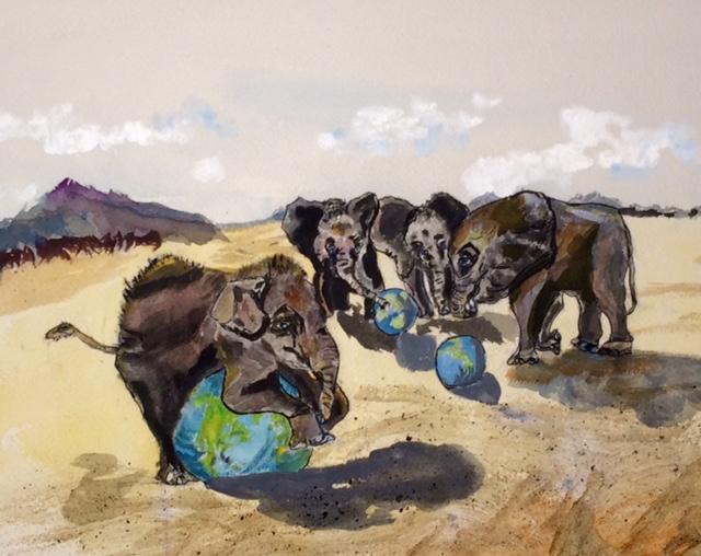 Black Elephants 1