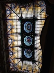 Gran hotel ceiling