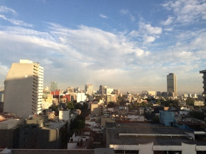 Mexico City in February