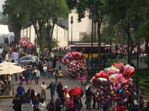 Valentine's Day in Coyoacan