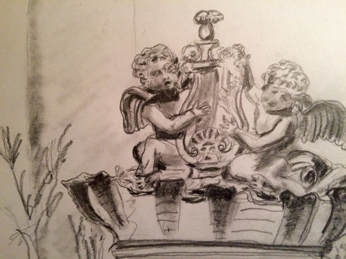 Study of Cherubs with Lyre