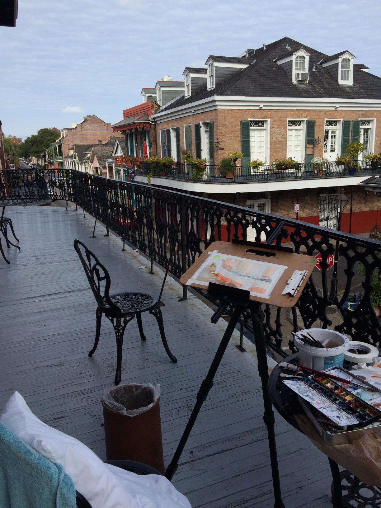 deck scene