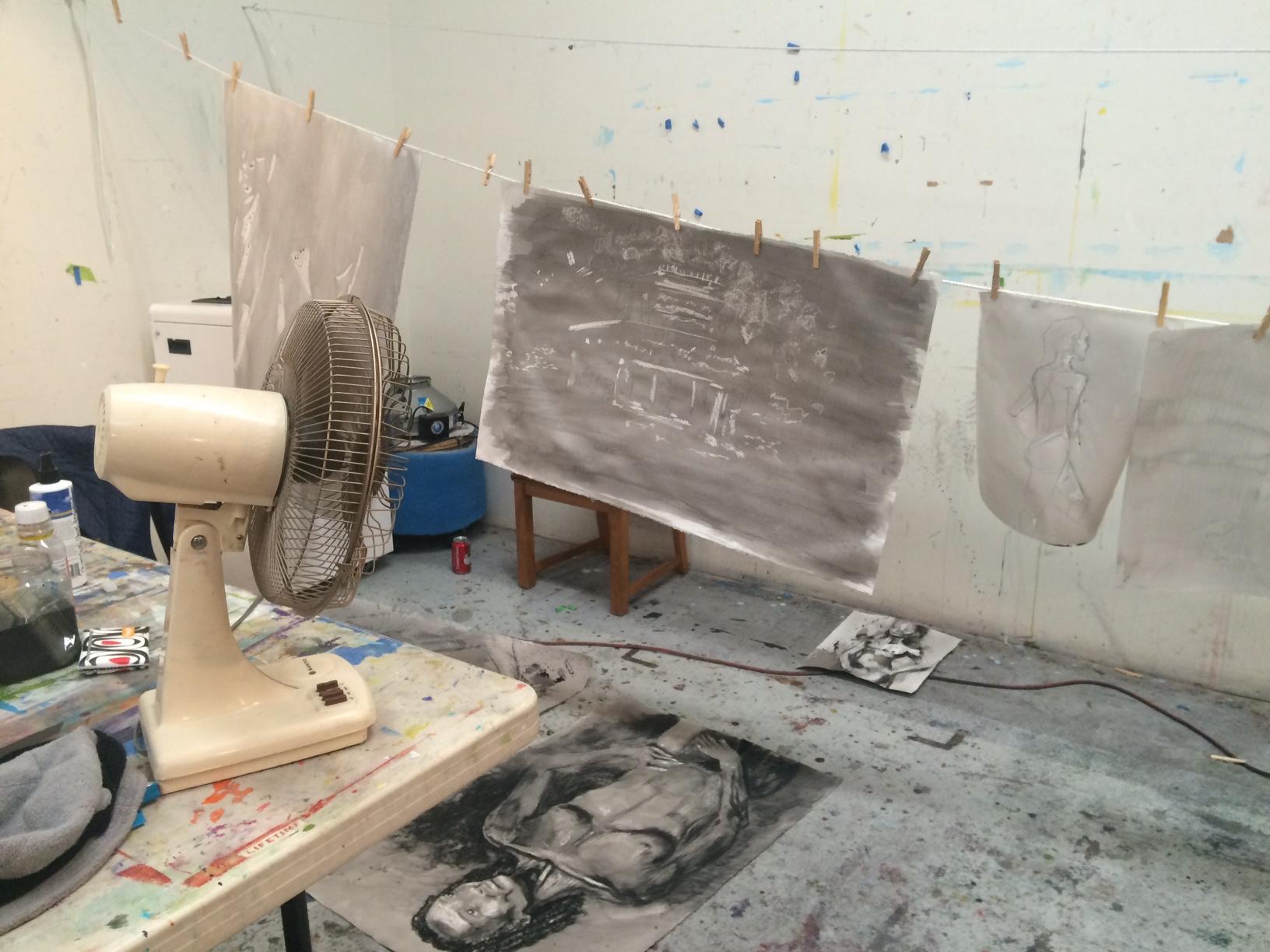 Drying art