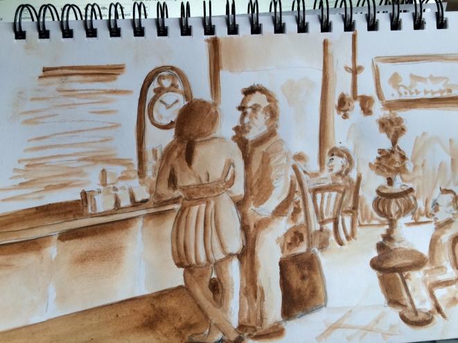 Cafe Sketch 3