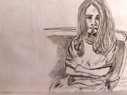 Illustration:  Pencil sketch in Stillman & Birn Alpha series sketchbook by Black Elephant Blog author