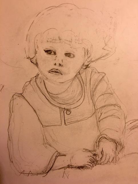 Boy sketch 1