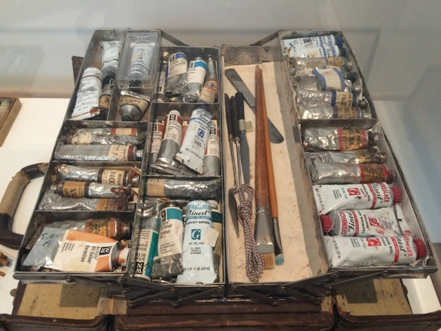Georgia O'Keefe paintbox