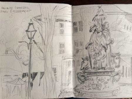 St. Francis Park sketch
