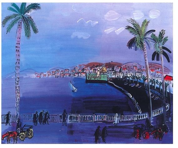 Promenade de Anglais by Raoul Dufy