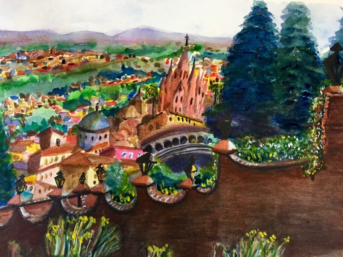 San Miguel watercolor