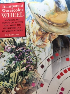 Transparent Watercolor Wheel Book cover