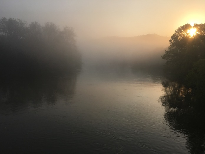 Sunrise on the Shenandoah River