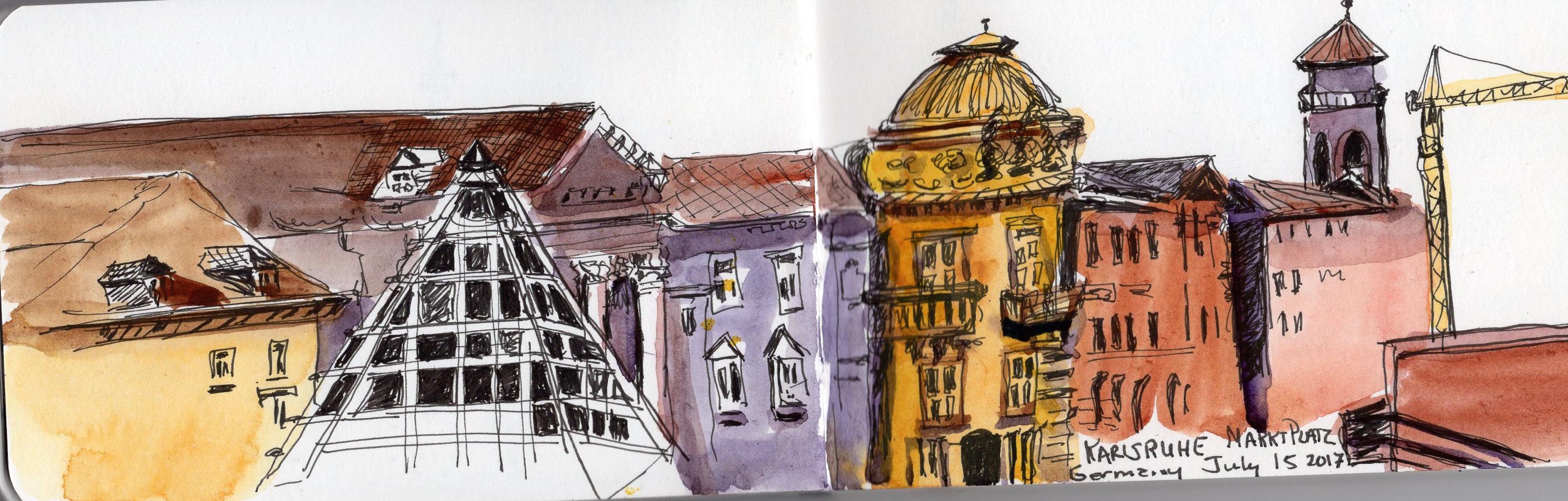 Karlsruhe sketch