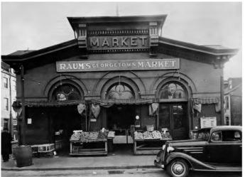 Georgetown Market 1937